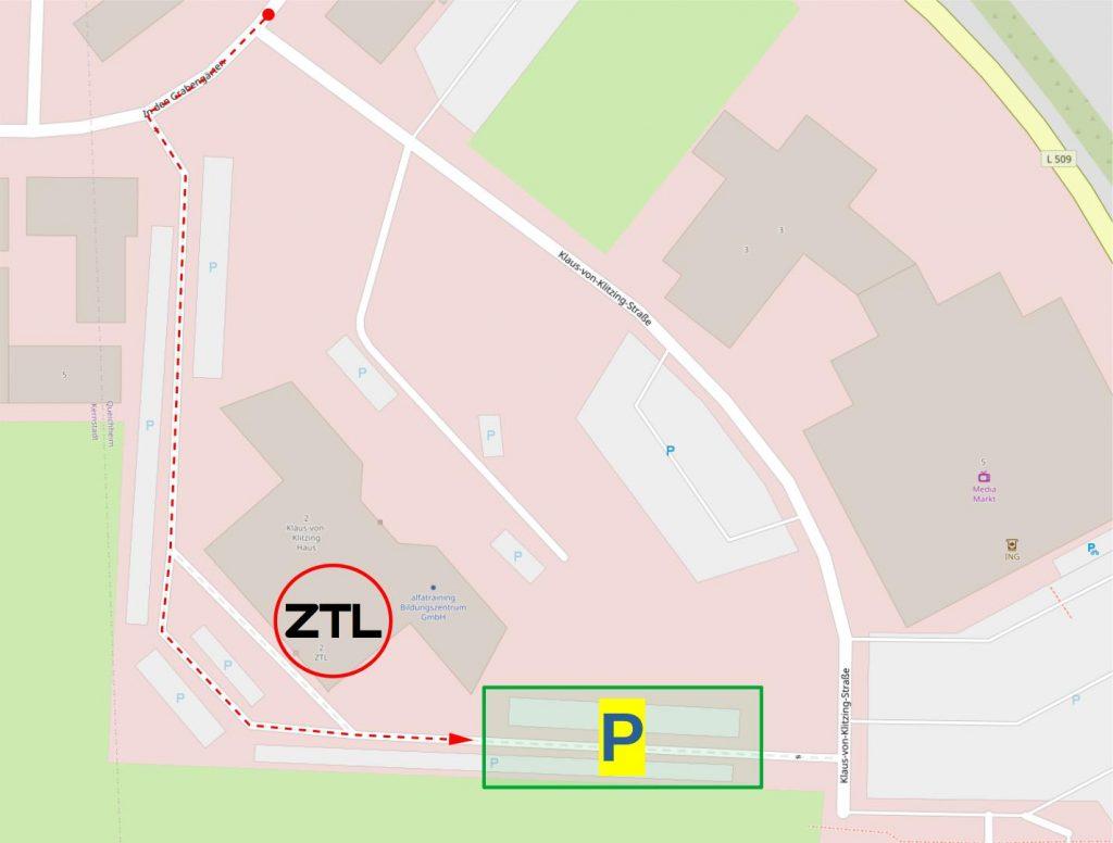 ZTL Anfahrt und Parkplatz